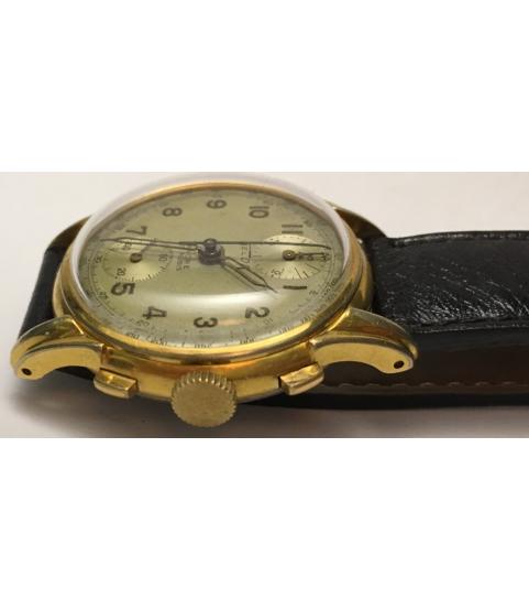 Vintage Telda Chronograph Men's Watch Venus 170 from 1950s