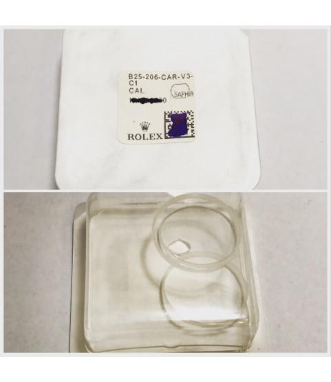 New Rolex 25-206-CAR-V3 Sapphire crystal glass 169622, 169628, 169623