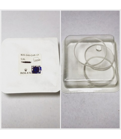 New Rolex Sapphire Crystal Glass 178245, 178313, 178341, 178343