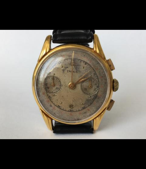 Vintage DOXA Chronograph Men's Watch Landeron 48