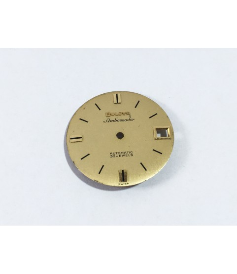 Bulova 12EBACD (Buren 1322) Ambassador watch dial part
