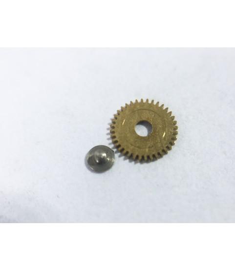 Bulova 12EBACD (Buren 1322) setting wheel for date indicator driving wheel part 604
