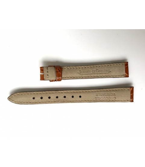 Jaeger LeCoultre crocodile leather strap lady watches 12mm