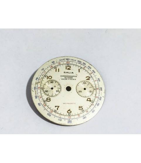 Valjoux caliber 92 Galia watch dial part