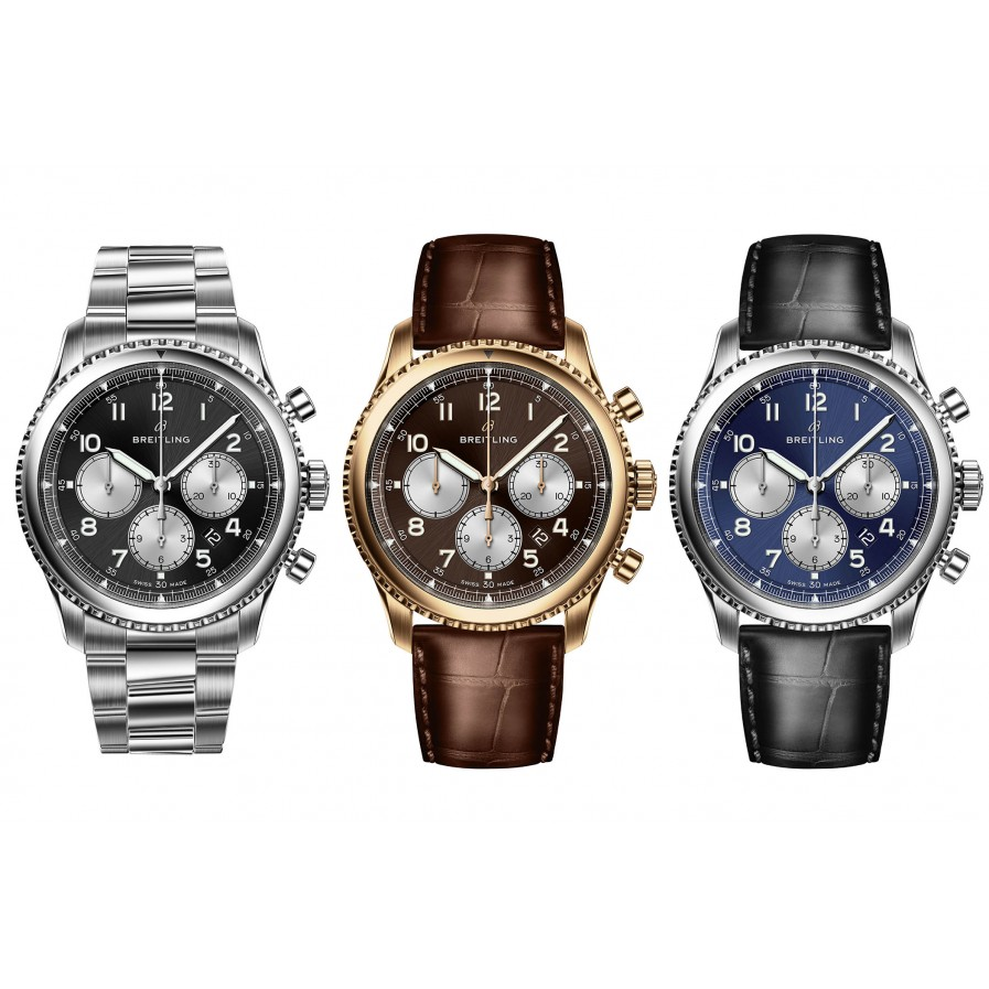 Breitling's Bold New Look