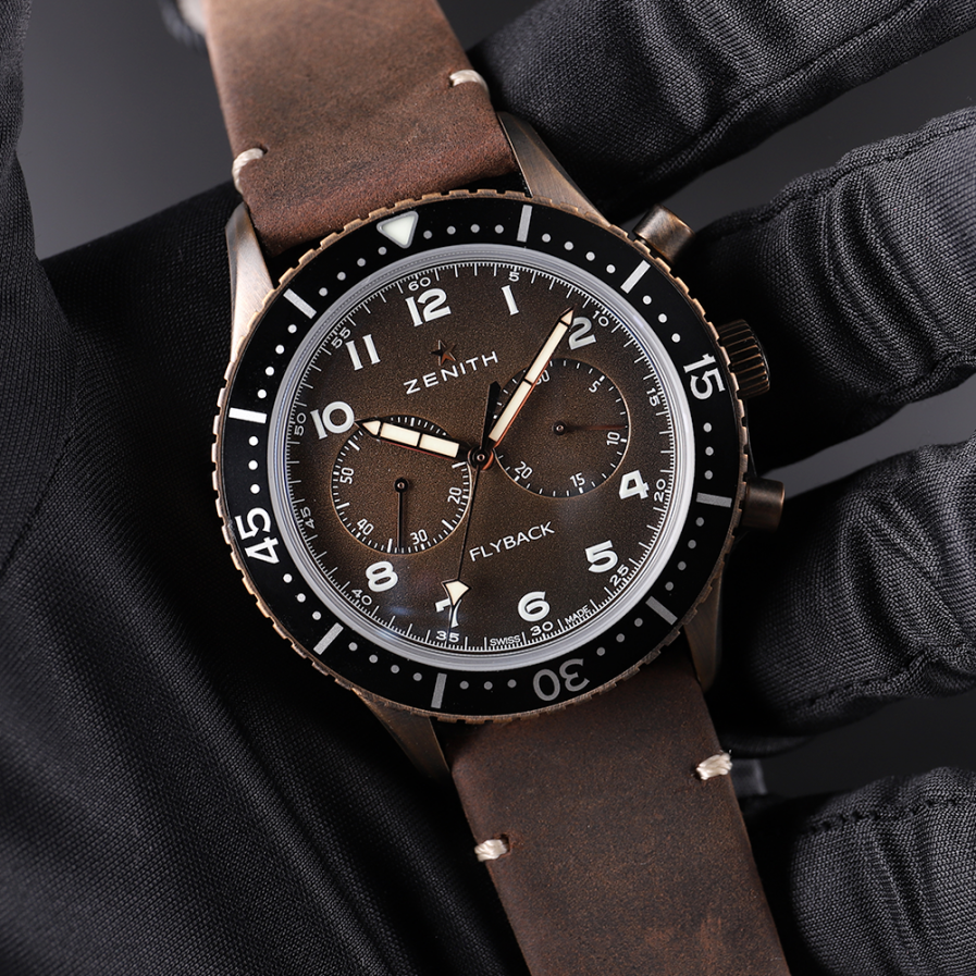 The Flyboy's Flyback: Zenith Pilot Cronometro Tipo CP-2 Flyback