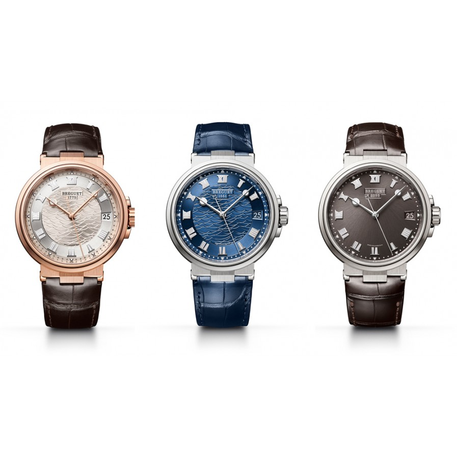 Back To The Sea: Breguet Marine Collection