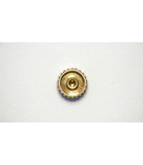 Patek Philippe 18k rose gold crown 3.47mm x 1.80mm