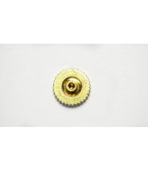 Patek Philippe 18k yellow gold crown 4.95mm x 1.29mm