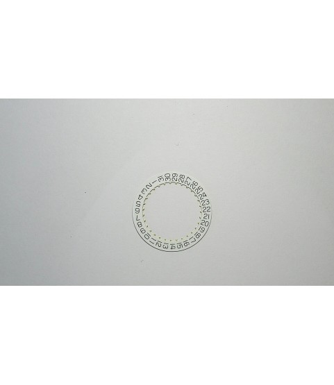 Sellita SW200-1 white date ring indicator part