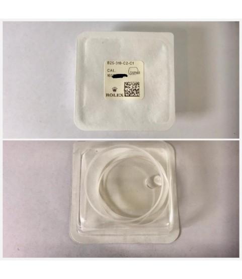 New Rolex B25-318-C2-C1 Crystal Glass Sapphire 116300, 116333, 116334, 218206