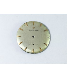 Universal Geneve 1200 watch dial part