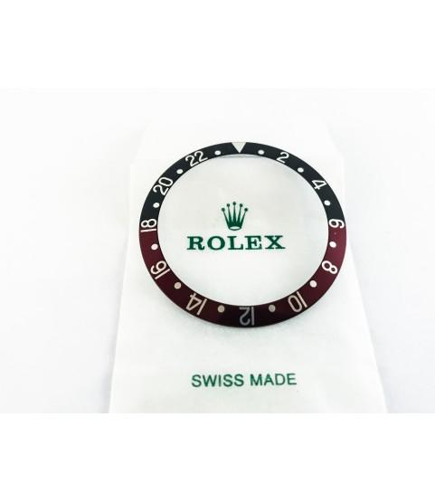 New Rolex Bezel Insert Coke for GMT Master Watch 16710, 16760