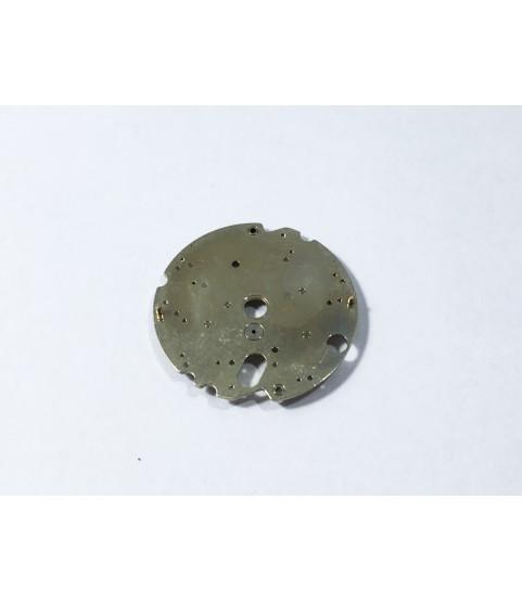 Omega 1120 (ETA 2892-2) chronograph mechanism plate part