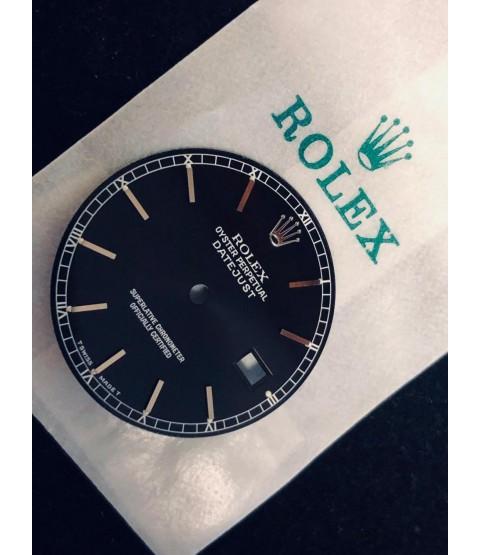 New Rolex Datejust Black Tritium Dial 16000, 16014, 16019, 16030