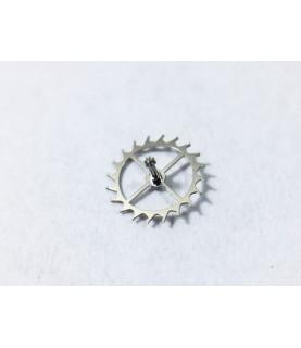 Omega 1120 (ETA 2892-2) escape wheel and pinion with straight pivots part 705