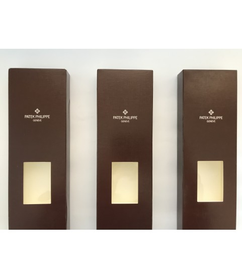 Lot of 3 Patek Philippe travel box for watches