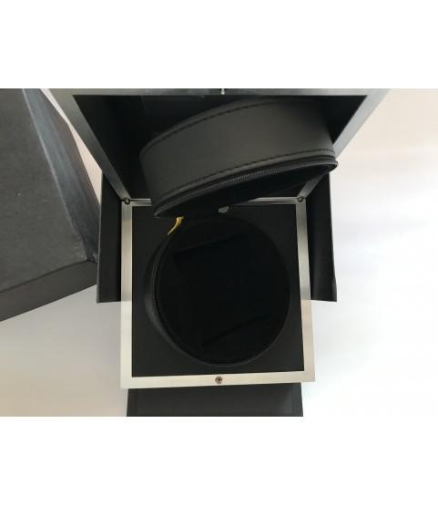 Graham London black watch box case inner/outer