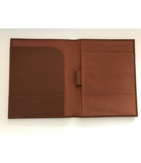 Rolex leather notebook padfolio case