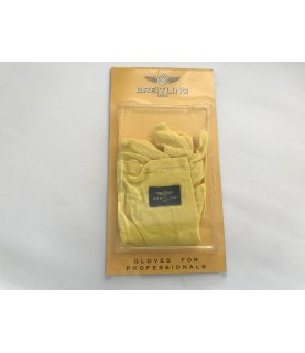 New Breitling yellow gloves universal size