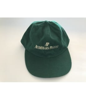 Vintage Audemars Piguet green men cap