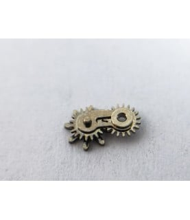 Tag Heuer caliber 1887 sliding gear, mounted part