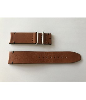 New Baume Mercier brown leather strap 22mm