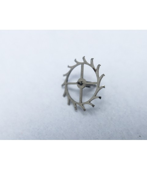 Tissot 872 (Lemania 1277) escape wheel and pinion with straight pivots part 6808