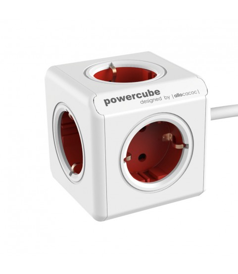 Allocacoc PowerCube Extended power EU 220–240 V 16A 1,5 meters cable 5 sockets