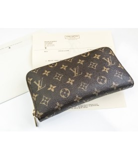 Louis Vuitton Ladies Monogram Brown Long Wallet M60002