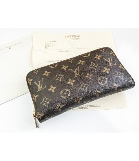 Louis Vuitton Ladies Monogram Brown Long Wallet M60002