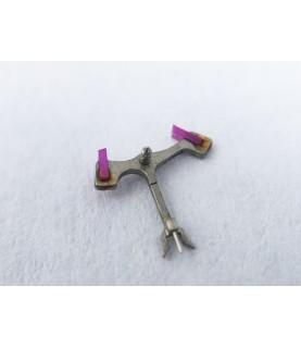 Landeron caliber 187 jewelled pallet fork and staff anker part 710