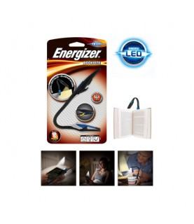Energizer Flexible Booklite Clip Book Lamp LED Flashlight Compact Design