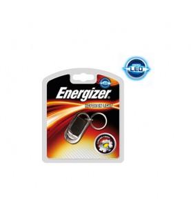 Energizer 18 Metres LED Hi-Tech Keyring Torch, Keychain Light Chrome Car Keys Fob