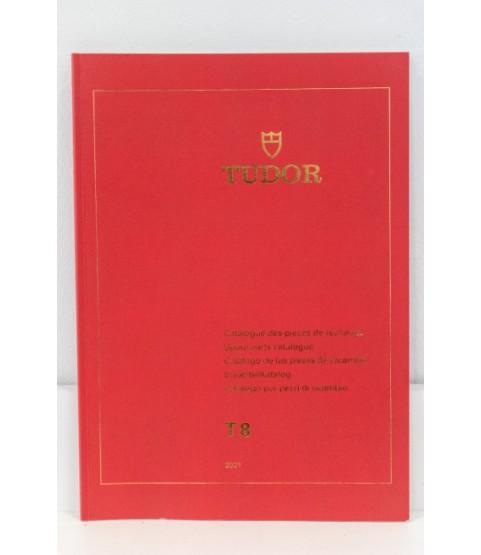 Genuine Tudor Spare Parts Catalogue T8 2001 Movements and Bracelets