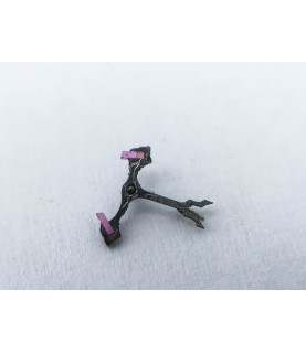 Rolex Rebberg caliber 1500 jewelled pallet fork and staff anker part 710