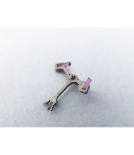 Valjoux caliber 7733 jewelled pallet fork and staff anker part 710