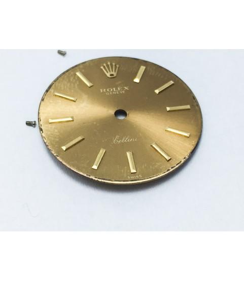 Rolex Geneve watch dial caliber 1600, 1601 21 mm