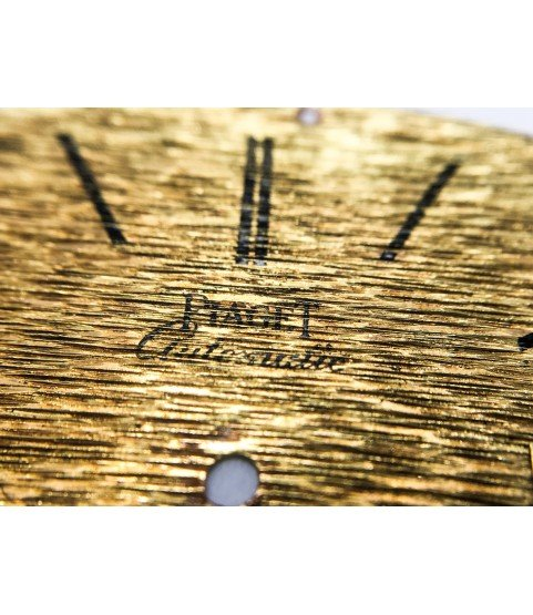 Piaget caliber 12PC Automatic gold watch dial part