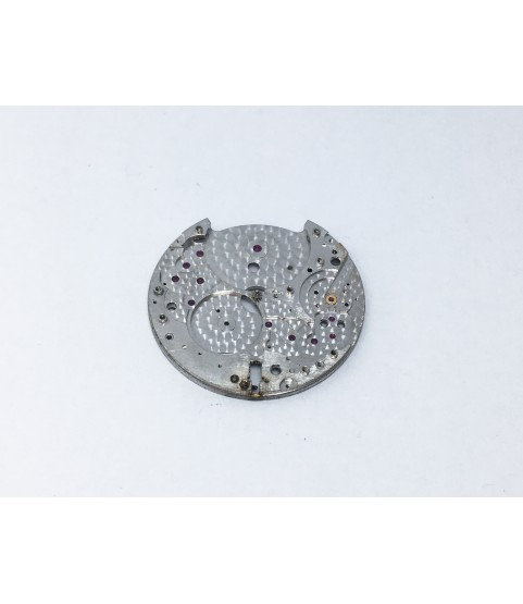 Piaget caliber 12PC main plate with setting lever and center pinion part 100