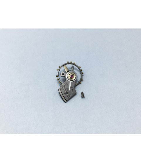 Hamilton caliber 672 (ETA 1256) balance wheel with bridge part