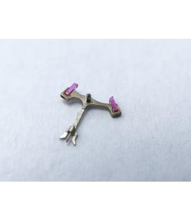 Landeron caliber 248 jewelled pallet fork and staff anker part 710