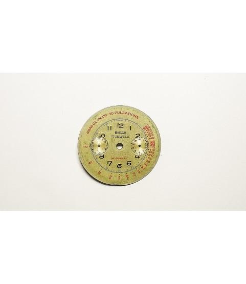 Venus 175 watch dial part