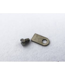 ETA caliber 2782 countersunk flat head screw, flat end part