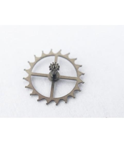 ETA caliber 2879 escape wheel and pinion with straight pivots part 705