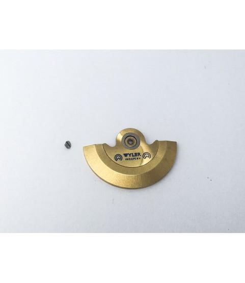 ETA caliber 2788 oscillating weight mounted part 1143/1