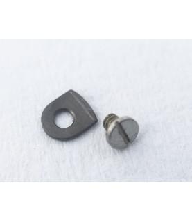 Omega caliber 1012 countersunk flat head screw, flat end part