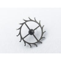 Longines caliber 342 escape wheel and pinion with straight pivots part 705