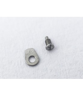 Omega caliber 620 countersunk flat head screw, flat end part