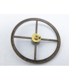Omega 269 balance wheel with staff without hairspring regulated part 1327